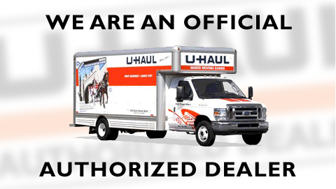 We are an Official Authorized UHaul Dealer - Click To Learn More