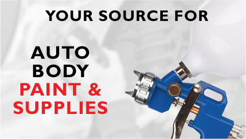 Your Source For Auto Body Paint and Supplies